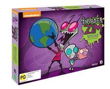 INVADER ZIM - COMPLETE INVASION COLLECTORS SET (6DVD) (ALL REGIONS) SEALED NEW