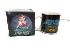 Star Trek Coffee Cup Ceramic Mug Captain James Tiberius Kirk Enterprise NCC 1701