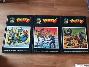 Perry Rhodan Comic Hardcover Band 1 bis 3 (limitierte Ausgabe) Super Zustand