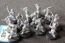 Games workshop il signore degli anelli Mordor Orchi DUE MANI ARMI x12 LOTR GW