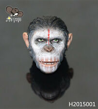JG TOYS 1/6 Rise of the Planet of the Apes Caesar HEADPLAY