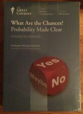 What are the Chances? Probability Made Clear (UNOPENED Great Courses DVD & Book)