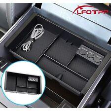 LFOTPP Car Armrest Console Storage Organizer Tray For 2018 Chevrolet Silverado