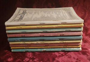 Readers Digest Reading Copy Lot 1940 issues