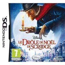 10109 - LE DROLE DE NOEL DE SCROOGE - DISNEY - JEU DS - NEUF