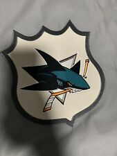 Pottery Barn NHL Logo San Jose Sharks Patch Duvet Cover Twin - New