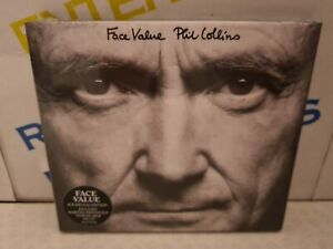 Phil Collins - Face Value CD 2 Disc Deluxe Edition NEW & SEALED
