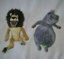 "Madagascar: Alex And Gloria 8"" Plush Toys"