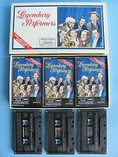 Legendary Performers ~ Various Artists - 3 Cassette Box Set 1987 WORKS ~ Digest