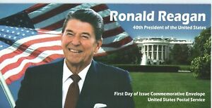 US Sc 3897 Ronald Reagan 40th President First Day of Issue/Cover Comm Envelope