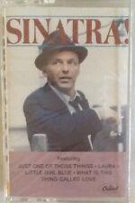 "FRANK SINATRA ""SINATRA!"" CASSETTE 1983 capitol sealed"