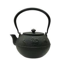 Handmade Quality Asian Heavy Cast Iron Teapot Display vs786
