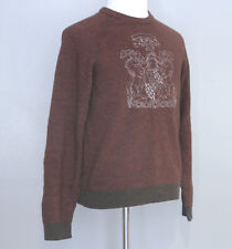 Guess Jeans Mens Sweater, Size Large, Wool Cashmere Blend