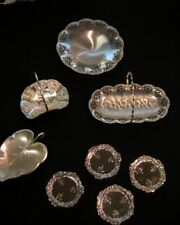 Vintage Silver Candy Serving Trays