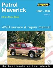 NEW GREGORYS WORKSHOP REPAIR MANUAL BOOK NISSAN PATROL GQ Y60 MAVERICK DA DIESEL