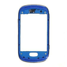 COVER ORIGINALE SAMSUNG GT S6010 S6012 GALAXY MUSIC DUOS FRONTCOVER BLU