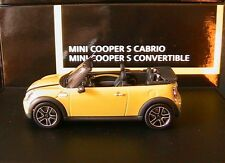 MINI COOPER S CABRIO CONVERTIBLE INTERCHANGE R57 2009 MINICHAMPS 80422148813