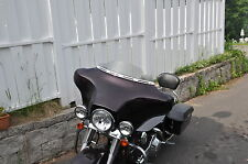 """4"""" Harley Davidson Lancer Windshield  Smoke for 96-2013 Touring Dresser FHLX"""