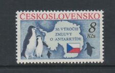 Czechoslovakia - 1991, Antarctic Treaty, Penguins, Birds stamp - MNH - SG 3061