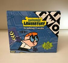 Dexter's Laboratory Lab Cartoon Network - Sealed Trading Card Hobby Box - ArtBox