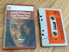 RARE• Andy Williams, 'Love Theme from Godfather' •1972, cassette tape album CBS