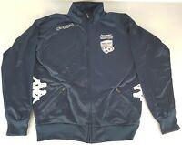 Adelaide United Kappa Zip Jacket Soccer Football Mens Medium Dark Blue
