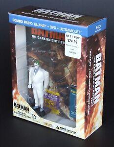 Batman: The Dark Knight Returns Pt 2 Best Buy US Region A Blu-ray + Joker Figure