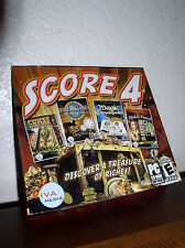 Score 4 -Curse Montezuma/Treasure Masters/Magic Encyclopedia/Stolen Venus
