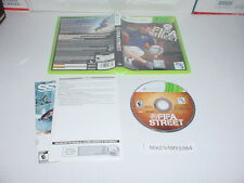 FIFA STREET soccer game complete in case w/ Manual for XBOX 360