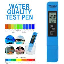 3 In1 Mini Portable Digital LCD TDS EC Temperature Water Purity Tester Pen Meter