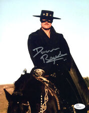 "(SSG) DUNCAN REGEHR Signed 8X10 Color ""Zorro"" Photo with JSA (James Spence) COA"