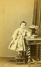 Young Boy Fashion Paris Early Studio Photo Ken Old CDV 1860