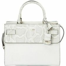 NWT GUESS Cate Satchel Handbag & Wallet Set Color Chark (White)