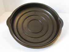 GRISWOLD  NO. 7  SELF BASTING LID 1097 CAST IRON SKILLET COVER