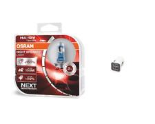 OSRAM H4 12 V Night Breaker Laser +150% mehr Helligkeit +  2-Fach USB-Adapter