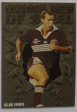 1995 Origin Men of Steel : OS4 Rugby League Card : Allan Langer