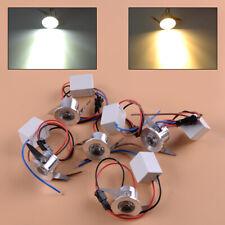 5X 3W LED Recessed Mini Spot Light Lamp Cabinet Ceiling Downlight Room Fixture