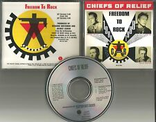 Bow Wow Wow Member CHIEFS OF RELIEF Freedom to Rock w/ INTERVIEW PROMO CD Single