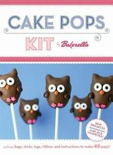 NEW CAKE POPS KIT BY BAKERELLA ENGLISH RECIPES & CAKE POP STAND DESSERT GIFT