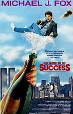 "The Secret Of My Success  movie poster  : 11"" x 17"" inches : Michael J. Fox"