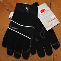 M Flexzilla F841YM Hi-Dexterity Fingerless Work Gloves Synthetic Leather
