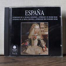 ESPANA anthologie de la musique espagnole – Astrée 1992 – E 8500