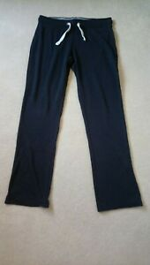 Fat Face Activewear Trousers Jogging Bottoms Size 12 Dark Navy Blue