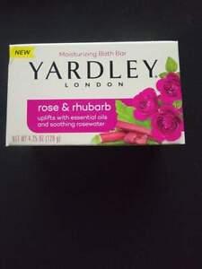 YARDLEY SOAP BARS ROSE & RHUBARB