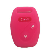 Peachblow Silicone Entry Remote Key Fob Case Skin fit for Honda 2+1 Button