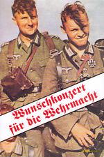 Wunschkonzert für die Wehrmacht Reprint Heinz Goedecke 2. Weltkrieg Rundfunk