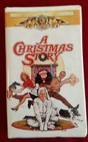 A Christmas Story VHS tape Darren McGavin MGM Entertainment Xmas Movie