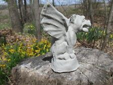 """6"""" Tall Cement Gargoyle Garden Art Concrete Statue Yard Art"""
