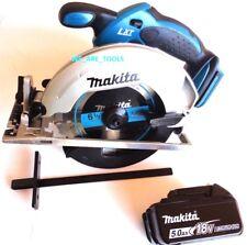 "Makita XSS02 Cordless Circular Saw 18 Volt, (1) BL1850B 5.0 Battery 18V 6 1/2"""