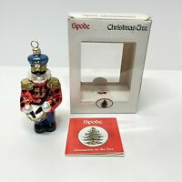 SPODE Blown Glass TOY SOLDIER - Christmas Ornaments on the Tree - Poland  w/Box